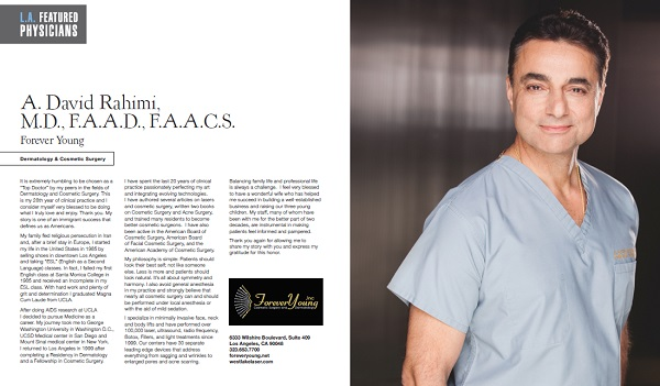 Facelift Los Angeles at Forever Young -- Cosmetic Surgery, Botox
